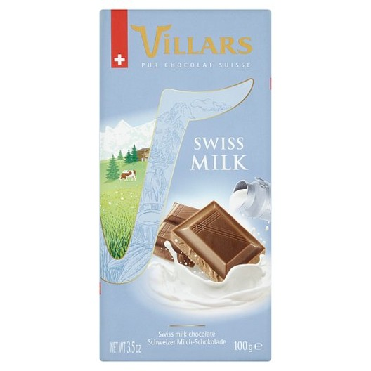 "ШОКОЛАД ""Villars"" 100г /swiss milk/"