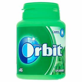 "ДЪВКИ ""Orbit"" 64гр /spearmint bottle - драже/"