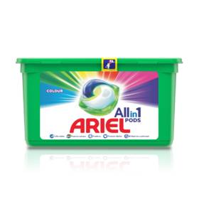 "КАПСУЛИ ""Ariel"" 3 in 1 Color 12 дози"